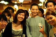 认识了很多日本朋友