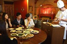 尽情享受北京烤鸭吧!