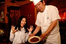 请轻松愉快地享受北京烤鸭